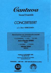 Cantuva Stichtingsconcert