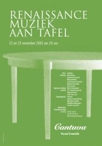 Cantuva aan tafel 2002