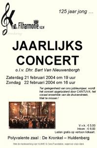 Cantuva Jaarlijks Concert 2004