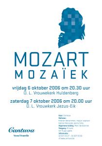 Cantuva Mozart Mozaïek