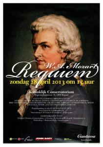 Cantuva Requiem Mozart Brussel
