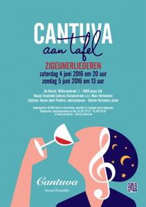 Cantuva aan tafel 2016